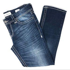 BKE Distressed Addison Crop Jeans